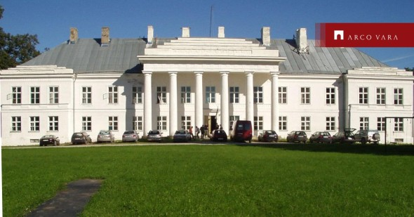 Müüa majutuspind Aaspere mõis , Aaspere küla, Haljala vald, Lääne-Viru maakond