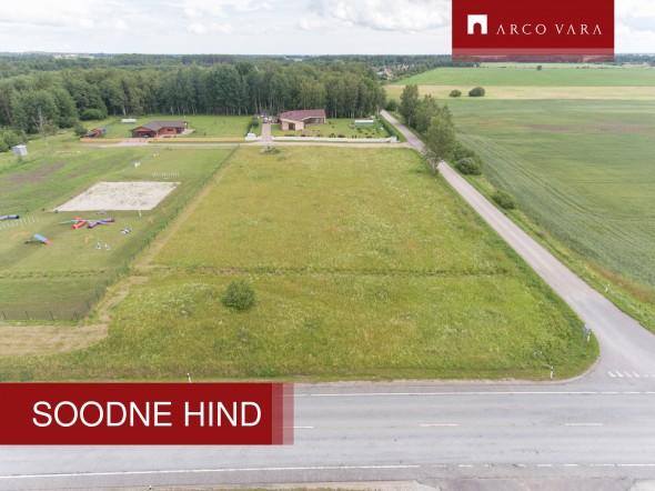 Продаётся земля Jaani tee 1, Päide küla, Rakvere vald, Lääne-Viru maakond