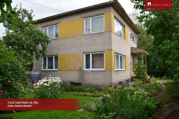 Müüa maja Nurme  9, Sõmeru alevik, Rakvere vald, Lääne-Viru maakond